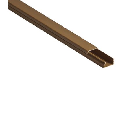 Кабель-канал РКК-20х10-К коричневый