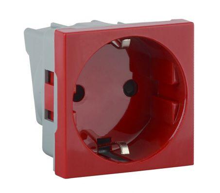 АДЛ 13-901 - розетка модульная красная