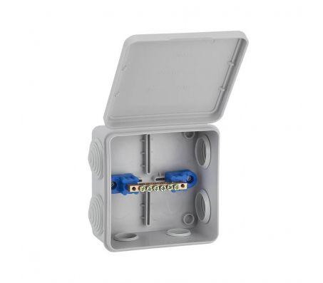 67045УП - Коробка распаячная КУП для о/п (6 вводов)