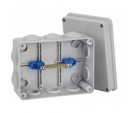 67055УП - Коробка распаячная КУП для о/п (10 вводов)