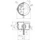 67021 - Коробка распаячная открытой проводки