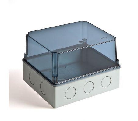 67067П - Коробка распаячная для о/п и монтажа приборов (без вводов)