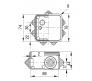 67030 - Коробка распаячная для о/п (7 ввода)