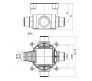 10135 - Коробка установочная для заливки в бетон
