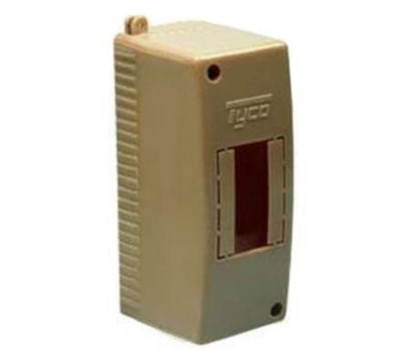 68022К - Щиток для открытой проводки на 2 модуля