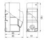 68102 - Щиток для открытой проводки на 2 модуля