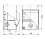 68104 - Щиток для открытой проводки на 4 модуля