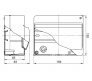 68106 - Щиток для открытой проводки на 6 модулей