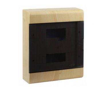 68324 (под дерево) - Щиток для открытой проводки на 24 модуля