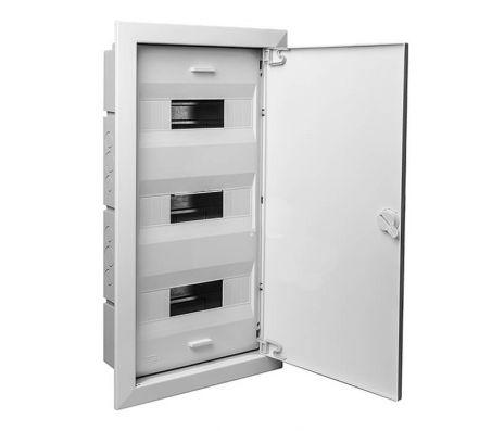 68136М - Шкаф для скрытой проводки на 36 модулей