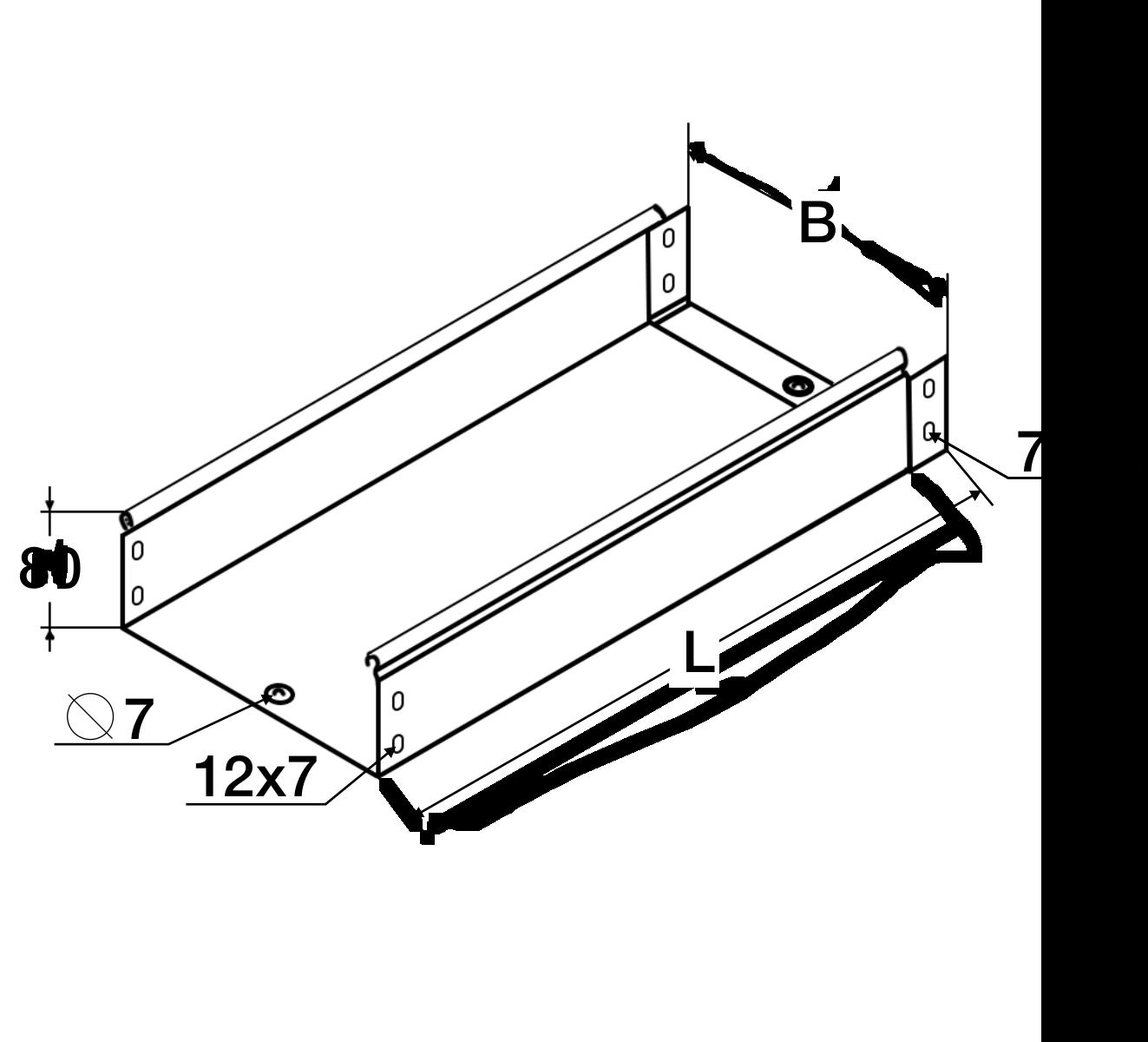 Соединения лотков производства МЭР