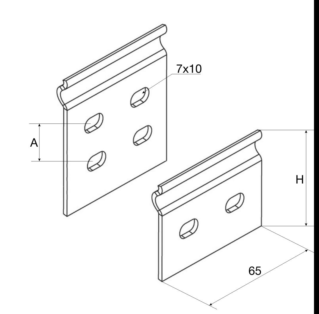 Соединительная пластина для лотка производства МЭР